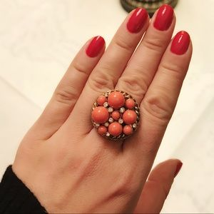 Elegant cocktail ring